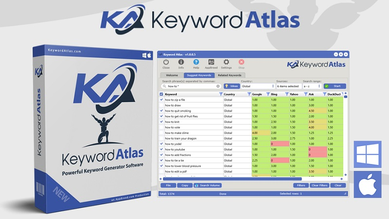 Keyword Atlas